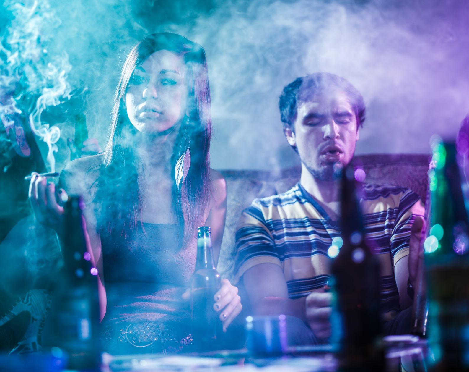 How Alcohol and Drugs Affect the Brain